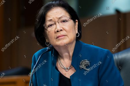 """United States Senator Mazie Hirono (Democrat of Hawaii) attends the Senate Judiciary Committee hearing titled """"Texas's Unconstitutional Abortion Ban and the Role of the Shadow Docket,"""" in Hart Senate Office Building in Washington, D.C., on Wednesday, September 29, 2021."""