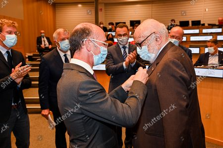 Editorial photo of Inauguration Rooms Parliament, Valenciennes, Brussels, Belgium - 27 Sep 2021