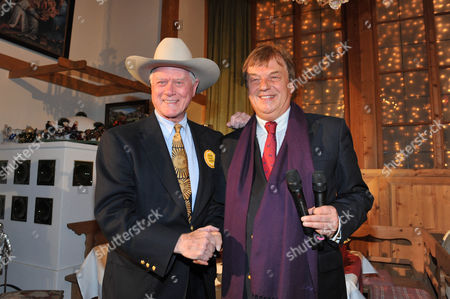 Larry Hagman and Michael Aufhauser