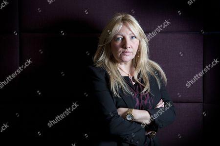 Editorial photo of Sly Bailey, Chief Executive of Trinity Mirror, London, Britain - 15 Nov 2010