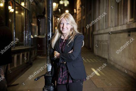 Editorial image of Sly Bailey, Chief Executive of Trinity Mirror, London, Britain - 15 Nov 2010