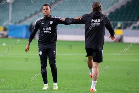 Editorial photo of Leicester City FC training session in Warsaw, Poland - 29 Sept 2021