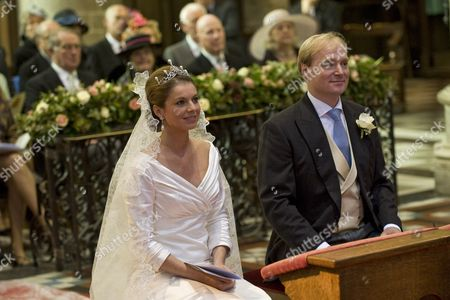 Annemarie Cecilia Gualtherie van Weezel and Prince Carlos of Bourbon-Parma