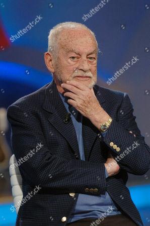 'Domenica' TV programme - Dino De Laurentiis