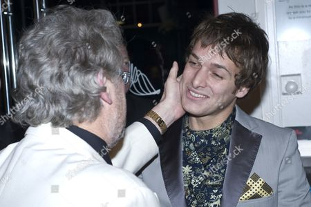 Stock Picture of Tony Roper with Paolo Nutini