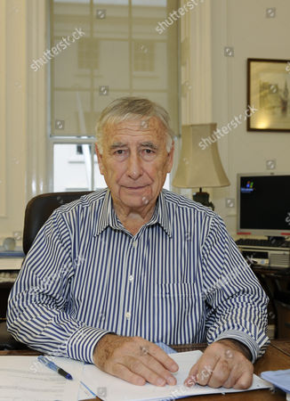 Editorial image of Lord Kalms at his office in central London, Britain  - 08 Nov 2010