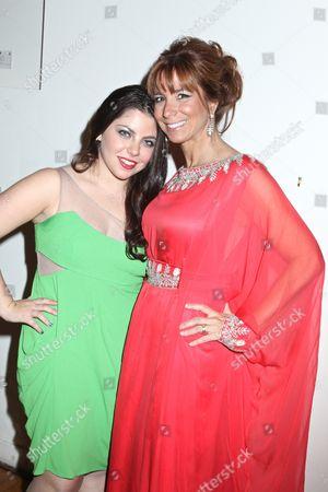 Allyson Shapiro and Jill Zarin