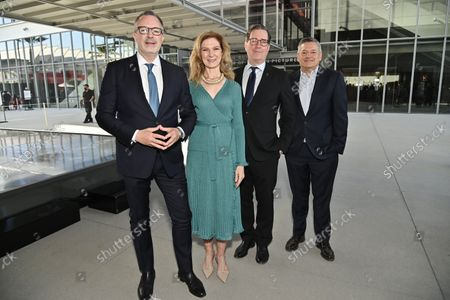 Bill Kramer, Director and President, Academy Museum, Dawn Hudson, CEO, Academy of Motion Picture Arts and Sciences, David Rubin, President, Academy of Motion Picture Arts and Sciences and Ted Sarandos, Co-CEO and Chief Content Officer, Netflix