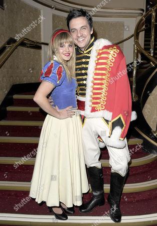 Tina O'Brien and her prince Mike Toolan