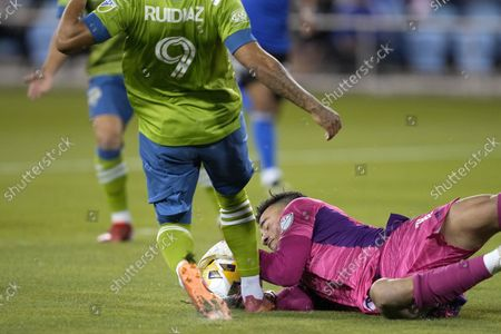 Editorial picture of MLS Sounders Earthquakes Soccer, San Jose, United States - 29 Sep 2021