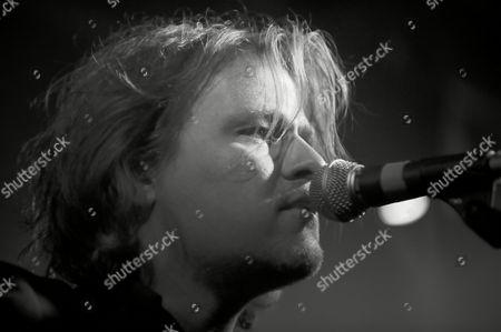 Stock Picture of Tom McRae performing in liquidrooms, Edinburgh
