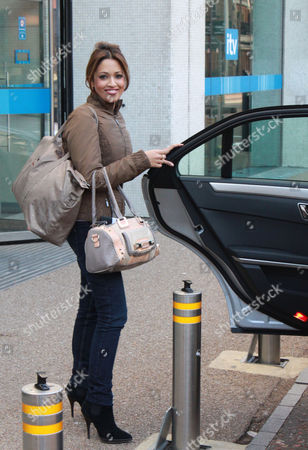 Stock Photo of Tamsin Lucia Khan at the ITV London Studios