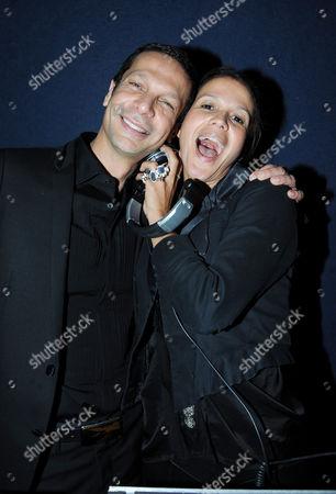 Robert Tateossian and Lisa Moorish