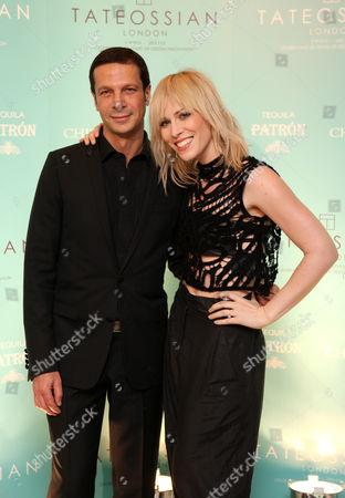 Robert Tateossian and Natasha Bedingfield
