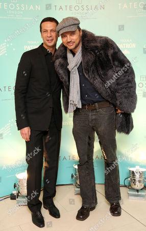 Robert Tateossian and Gerry Deveaux