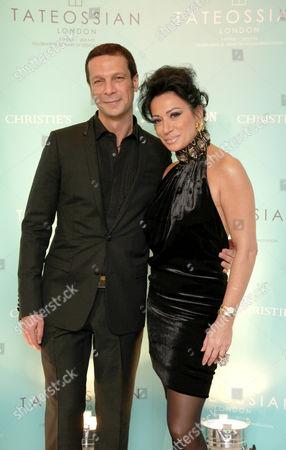 Robert Tateossian and Nancy Dell'Olio