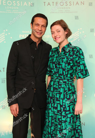 Robert Tateossian and Camilla Rutherford
