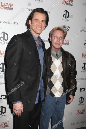 Jim Carrey and Phillip Morris