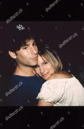 Barbra Streisand and son Jason Gould
