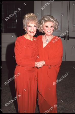 June Haver and Phyllis Diller