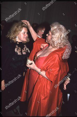 Francesca Hilton and mother Zsa Zsa Gabor