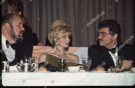 Dom DeLuise, Burt Reynolds and Loni Anderson