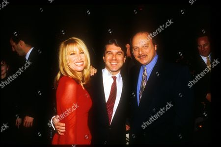 Suzanne Somers, Ted Harbert and Dennis Franz