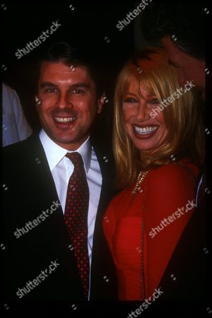 Suzanne Somers and Ted Harbert