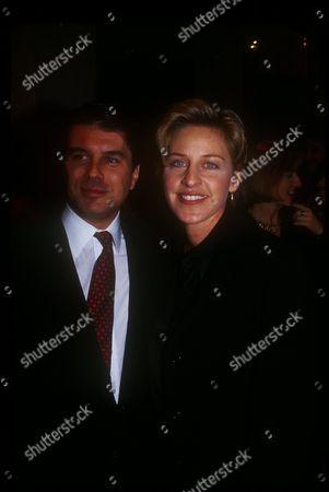 Ted Harbert  and Ellen Degeneres