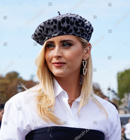 Editorial picture of Dior show, Outside Arrivals, Spring Summer 2022, Paris Fashion Week, France - 28 Sep 2021