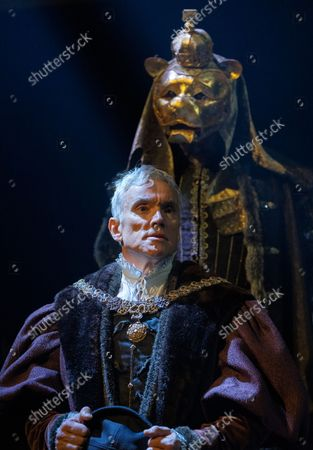 Editorial image of The Miror and the Light. Play written by Hilary Mantel performed at the Guilgud Theatre, London, UK - 30 Sep 2021