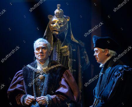 Ben Miles as Thomas Cromwell, Giles Taylor as Archbishop Cranmer