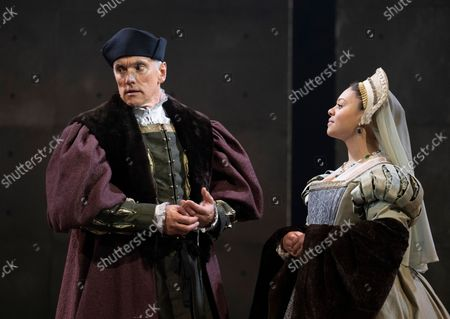 Editorial photo of The Miror and the Light. Play written by Hilary Mantel performed at the Guilgud Theatre, London, UK - 30 Sep 2021