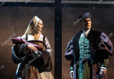 Editorial picture of The Miror and the Light. Play written by Hilary Mantel performed at the Guilgud Theatre, London, UK - 30 Sep 2021
