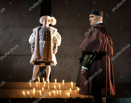 Stock Picture of Nathaniel Parker as Keng Henry, Ben Miles as Thomas Cromwell