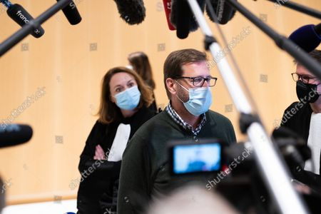 The judgement in the Bygmalion case is delivered on Thursday, 30 September, at 10 a.m.  Jérôme Lavrilleux, Deputy Campaign Director and Chief of Staff of Jean-Francois Cope, comes out of the audience and makes a statement to the press.