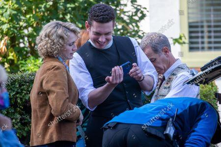 Editorial photo of 'Grantchester' TV show filming, Cambridge, UK - 16 Sep 2021