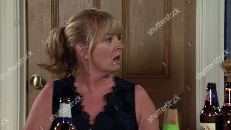Coronation Street - Ep 10451 Friday 8th October 2021 - 2nd Ep Leo Thompkins joins Jenny Connor, as played by Sally Ann Matthews, and Daisy Midgeley to sample some beers, but it's clear Daisy isn't interested in him and making excuses, heads off to bed. Jenny's frustrated.