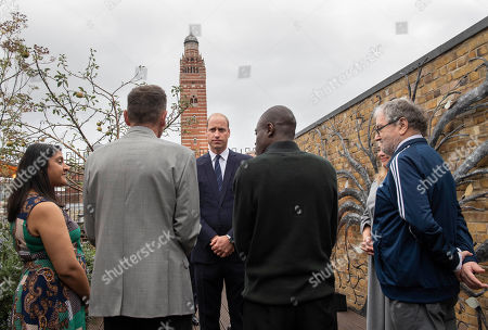 Prince William marks 40th anniversary of the homelessness charity The Passage Westminster.