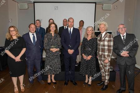 Prince William with Award winners
