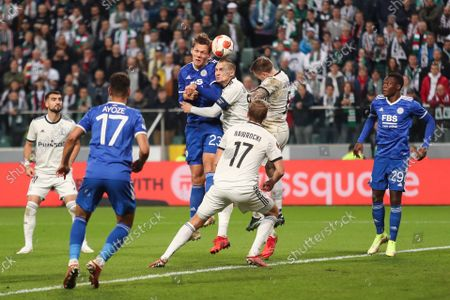 Editorial picture of Legia Warsaw v Leicester City, UEFA Europa League, Group C, Football, Marshall Jozef Pilsudski Municipal Stadium, Warsaw, Poland - 30 Sep 2021