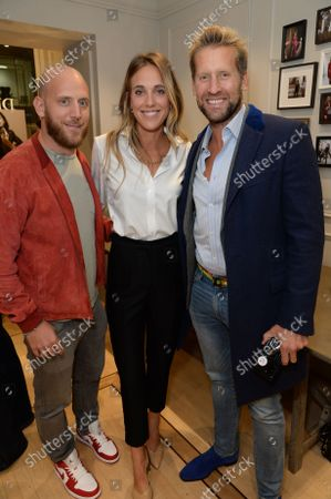 Editorial picture of The Deck x Turnbull & Asser Launch Party, London, UK - 30 Sep 2021