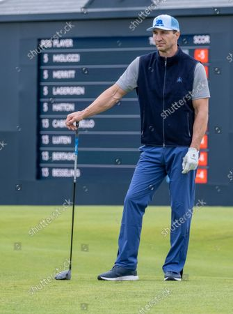 Editorial picture of Alfred Dunhill Links Championship, St Andrews, Scotland, UK - 30 Sep 2021