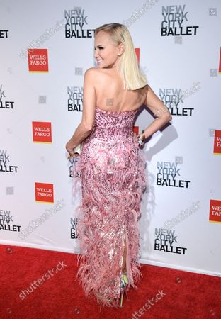 Actress Kristin Chenoweth attends the New York City Ballet Fall Fashion Gala at the David H. Koch Theater at Lincoln Center, in New York