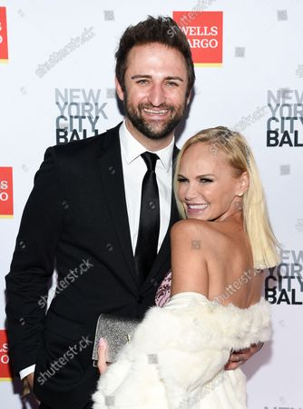 Actress Kristin Chenoweth, right, and boyfriend Josh Bryant attend the New York City Ballet Fall Fashion Gala at the David H. Koch Theater at Lincoln Center, in New York
