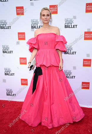 Actress Diane Kruger attends the New York City Ballet Fall Fashion Gala at the David H. Koch Theater at Lincoln Center, in New York