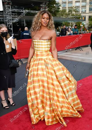 Actress Laverne Cox attends the New York City Ballet Fall Fashion Gala at the David H. Koch Theater at Lincoln Center, in New York