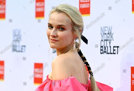Stock Image of Actress Diane Kruger attends the New York City Ballet Fall Fashion Gala at the David H. Koch Theater at Lincoln Center, in New York