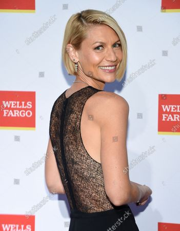 Actress Claire Danes attends the New York City Ballet Fall Fashion Gala at the David H. Koch Theater at Lincoln Center, in New York