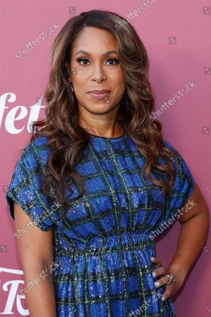 Stock Picture of Warner Bros. Television Group Chairman Channing Dungey attends the Variety's 2021 Power of Women event at the Wallis Annenberg Center in Beverly Hills, California, USA, 30 September 2021.